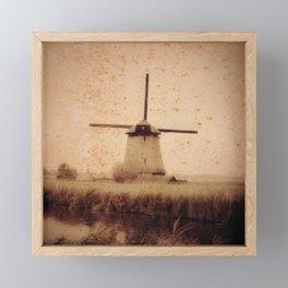 Vintage Mill Framed Mini Art Print