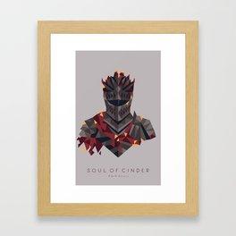 Soul of Cinder Framed Art Print