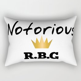 Notorious R.B.G Rectangular Pillow