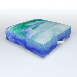 I Am Peaceful Outdoor Floor Cushion