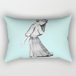 Daydreaming Rectangular Pillow