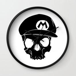 Mario fan til I die Wall Clock