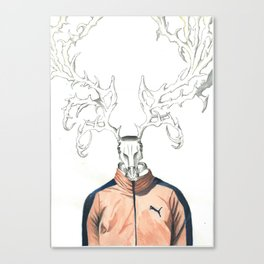 puma are not dead Canvas Print