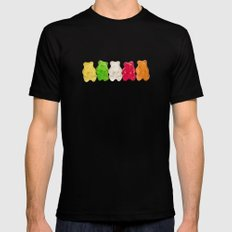 The Lineup Black Mens Fitted Tee MEDIUM