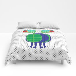 Animal Mardi Gras: Turtle Comforters