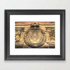 Royal Airforce Insignia Framed Art Print
