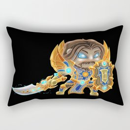 Wow Chibi Paladin I Rectangular Pillow