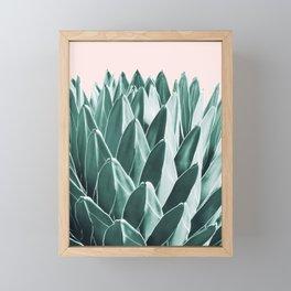 Agave Chic #10 #succulent #decor #art #society6 Framed Mini Art Print