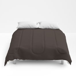 Cocoa Brown - Solid Color Comforters