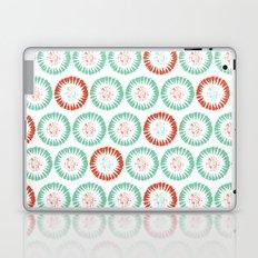 Block Print Circles Laptop & iPad Skin