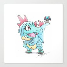 Caught in a DILEma Canvas Print
