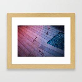 follow the ghost Framed Art Print