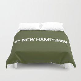 New Hampshire Moose Duvet Cover