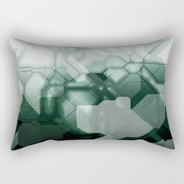 future fantasy bitter Rectangular Pillow