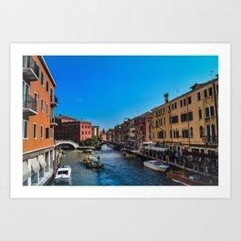 Left My Love In Italy Art Print