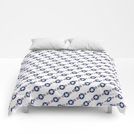 US Air force Style insignia Pattern Comforters
