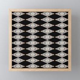 Moroccan mosaic Framed Mini Art Print