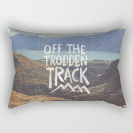 Trodden Track Rectangular Pillow