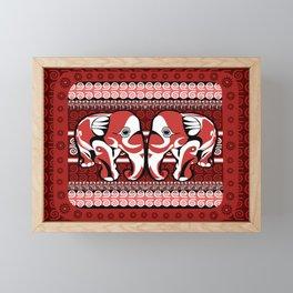 Indo Elered Framed Mini Art Print
