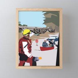 SC Flood Framed Mini Art Print