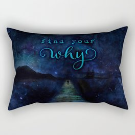 Find Your Why Rectangular Pillow