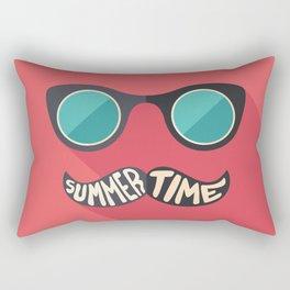 Hipster Summer Time Rectangular Pillow