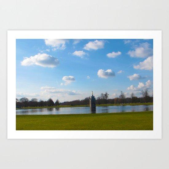 Richmond Park Art Print