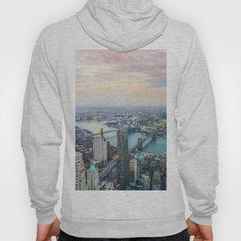 Manhattan and the brooklyn bridge Hoody