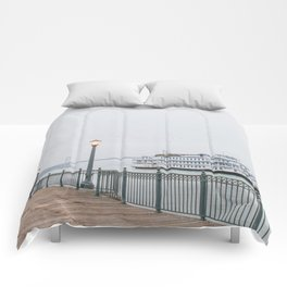 San Francisco Pier Comforters
