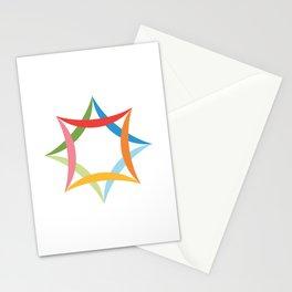 Flag of Ashgabat, Turkmenistan Stationery Cards