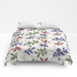 Chinese Elm leaves Comforters