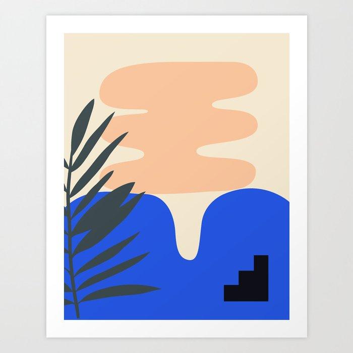 Shape study #14 - Stackable Collection Kunstdrucke