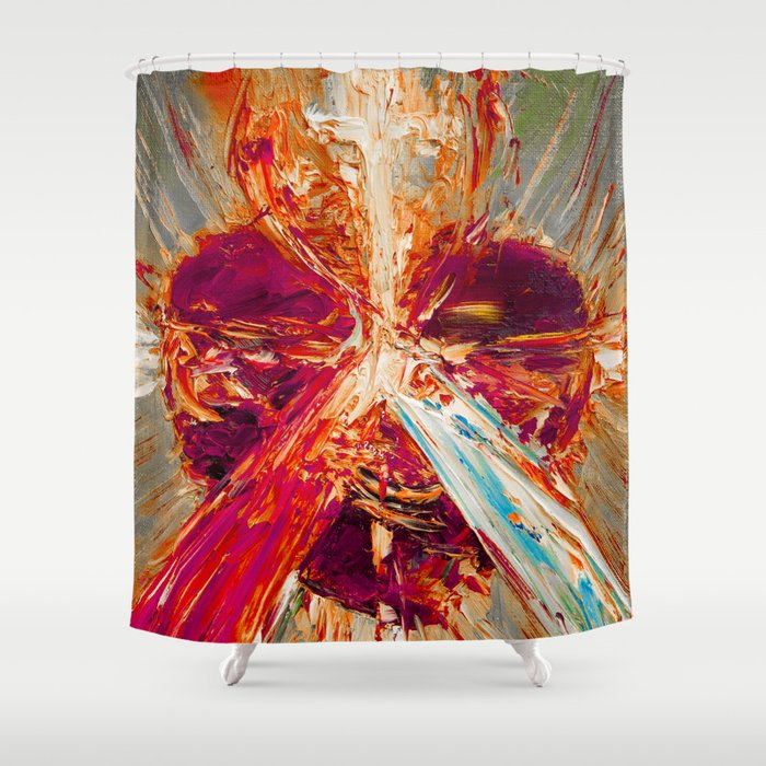 Sacred love III Shower Curtain