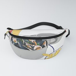 Mussels frm Brussels Fanny Pack