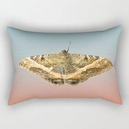 Black Witch Moth Rectangular Pillow