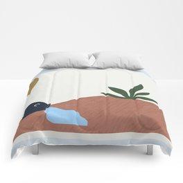 simple desertscape I Comforters