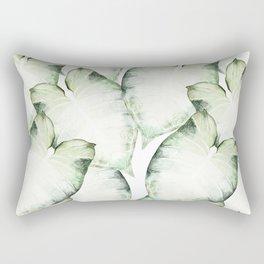Watercolour Leaf Rectangular Pillow