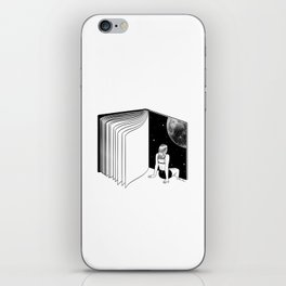 Reading is Dreaming with Your Eyes Open iPhone Skin