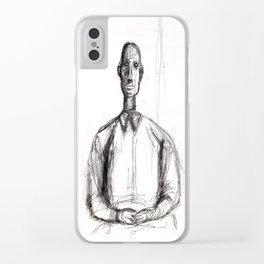 Contemplation Repose Clear iPhone Case