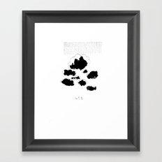 418 Framed Art Print