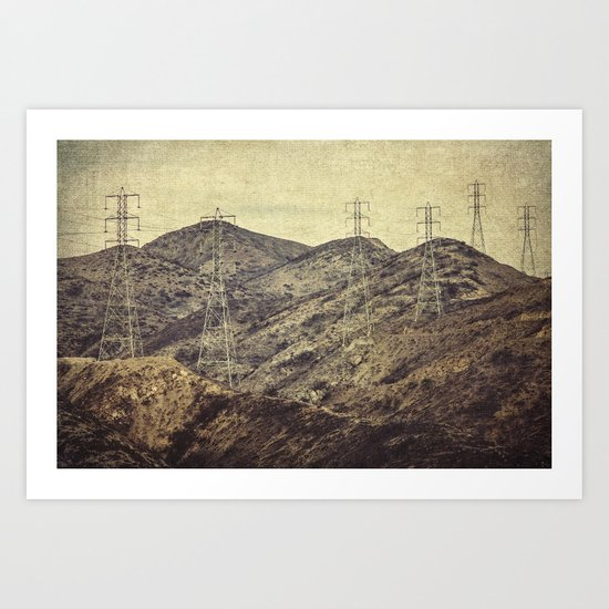 Electric and Company Art Print