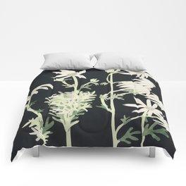 Flannel Flowers Comforters