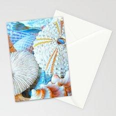 Aquatic Lines Stationery Cards