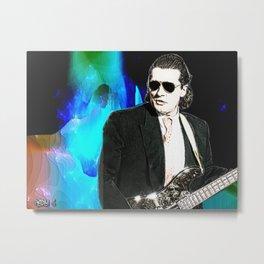 Bass Man Metal Print