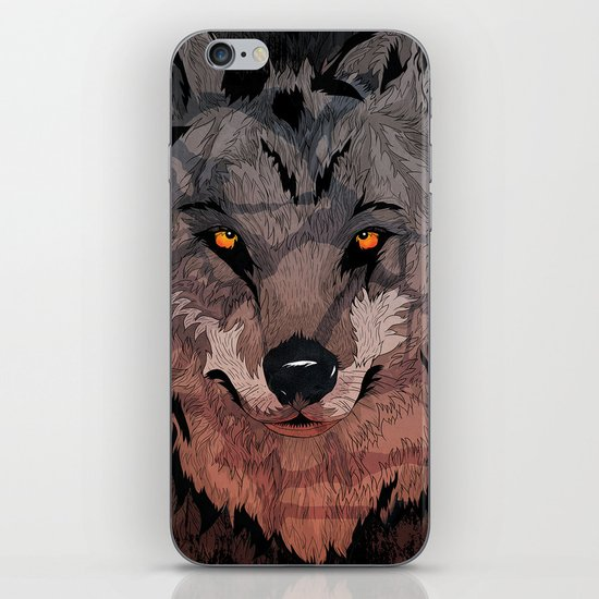 Wolf Mother iPhone & iPod Skin
