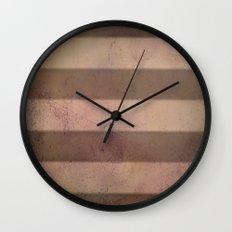 Mars Stripes Wall Clock