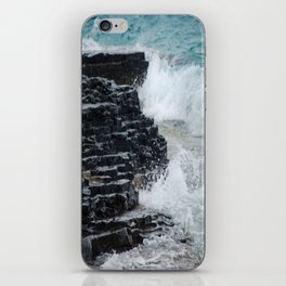Water and Rocks iPhone Skin