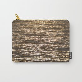 Sun ray on the sea Carry-All Pouch