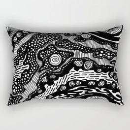 Blistered Sun Rectangular Pillow
