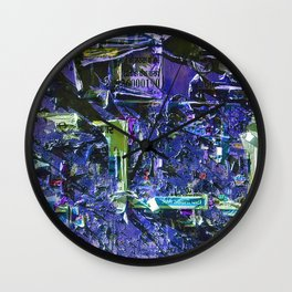 Abstract Vision IV Wall Clock